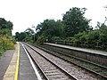 Somerleyton railway station - this way to Lowestoft - geograph.org.uk - 1505945.jpg