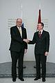 Somijas parlamenta priekšsēdētājs tiekas ar Edgaru Rinkēviču (8391052793).jpg
