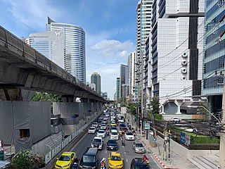 Sathon District District in Bangkok, Thailand