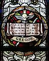 Sorrowful Mother Shrine Chapel (Bellevue, Ohio) - stained glass, Gregor. Te Deum.jpg