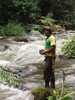 Orang Pendek - Indonesian fisherman in TNKS