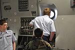 South Carolina Civil Air Patrol cadet stares out window.JPG