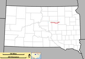 highway map of south dakota South Dakota Highway 26 Wikipedia highway map of south dakota