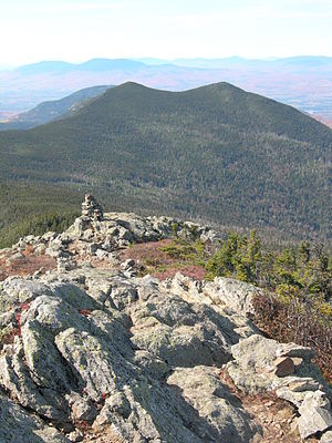Mount Bigelow (Maine) - Image: South Horn and North Horn Bigelows Maine