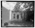 South rear. - Aspinwall Building, U.S. Highway 341, 75 feet southeast of South Church Street, Odum, Wayne County, GA HABS GA-2289-2.tif