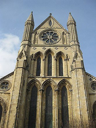 Lancet window - Image: South transept, Beverley Minster geograph.org.uk 1774861