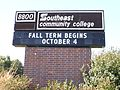 Southeast Community College sign.JPG