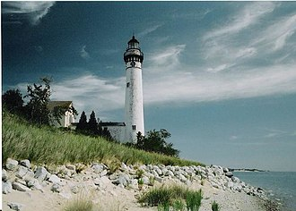 South Manitou Island - The lighthouse on South Manitou Island, built in 1871.
