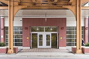 Southport station (CTA) - Southport station entrance