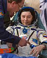 Soyuz TMA-04M Sergei Revin shortly after landing.jpg