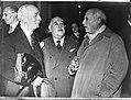 Spaanse Republikeinse delegatie op de Uno waaronder Picasso, Bestanddeelnr 901-9684.jpg
