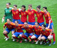 Женская сборная испания по футболу