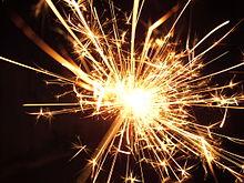 A spark