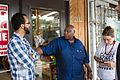 Speaking with Abdul Muflahi, owner of the Triple S Mart where Alton Sterling was shot by police on July 5, 2016 02.jpg