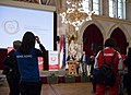 Special Olympics World Winter Games 2017 reception Vienna - speech Paul Jankowitsch 03.jpg