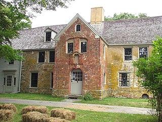 Spencer–Peirce–Little Farm building in Newbury, Massachusetts, United States