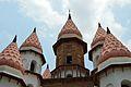 Spire and Domes - Hanseswari Mandir - Bansberia Royal Estate - Hooghly - 2013-05-19 7459.JPG