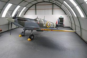 Loch Doon - Spitfire Mk IIA P7540, DU-W, at Dumfries and Galloway Aviation Museum