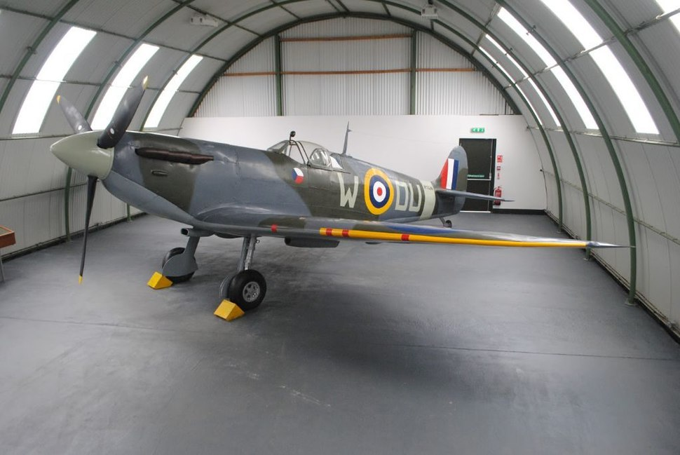 Spitfire Mk.IIA P7540 at the Dumfries and Galloway Aviation Museum