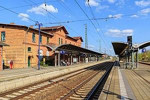 Berlin–Görlitz railway - Luebbenau station