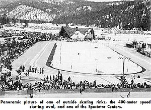 Speed skating at the 1960 Winter Olympics - 1960 Winter Olympics - Speed Skating