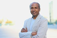 Sree Sreenivasan in New York, July 2016. Photo by Lia Chang.jpg