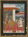 Sri Raga recital to Krishna-Radha, 19th century.jpg