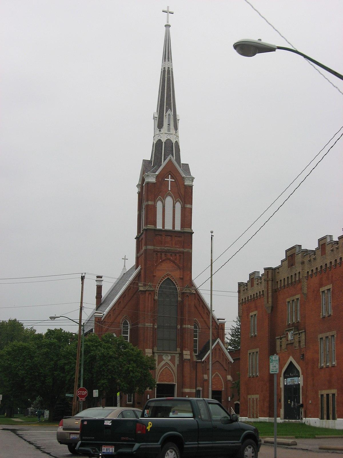 st augustine 39 s catholic church napoleon ohio wikipedia. Black Bedroom Furniture Sets. Home Design Ideas