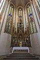 St. Blasius Regensburg Albertus-Magnus-Platz 1 D-3-62-000-24 33 Hauptchor mit Hochaltar.jpg