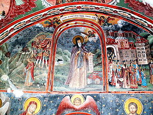 John of Rila - A fresco depicting St. John of Rila from Rila Monastery, Bulgaria