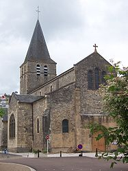 The church in Saint-Pierre-le-Moûtier