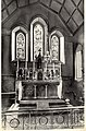 St Andrew and St Cuthbert Roman Catholic Church, Kirkcudbright, Scotland. The Victorian Gothic altar.jpg