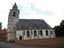 The church in Lanches-Saint-Hilaire
