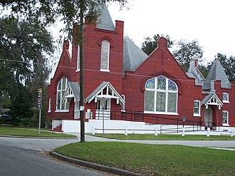 St. James A. M. E. Church (Sanford, Florida) - Image: St James AME Church in Sanford 3