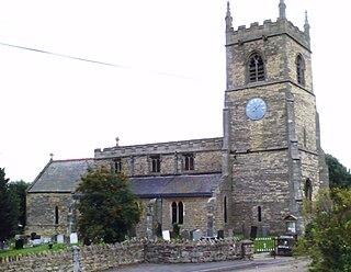 Blyton village in the United Kingdom