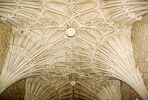 Ottery St Mary - The fan vaulting