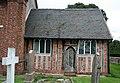 St Michael's Church, Baddiley, chancel - geograph.org.uk - 1233408.jpg