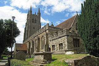 Tenterden town and civil parish in the Ashford district of Kent, England