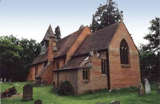 Windlesham - St Saviour, Valley End, Surrey