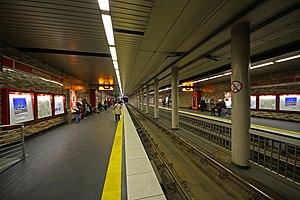 Köln Hansaring station - Stadtbahn platforms