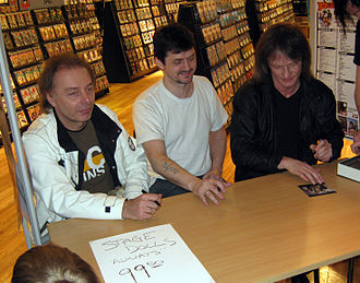 Stage Dolls - Band signing Always album in 2010