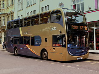 Stagecoach in Oxfordshire - Stagecoach Oxfordshire Alexander Dennis Enviro 400 bodied Scania N230UD on route S2 in Oxford in September 2012