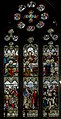Stained glass window, St Swithin's church, Lincoln (15863910460).jpg