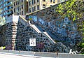 Stairs from Plaza Lafayette to Henry Hudson Parkway.jpg
