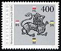 Stamp Germany 1995 MiNr1805 Heinrich der Löwe.jpg