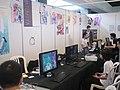 Stand Jeux Vidéos - Mang'Azur 2014 - P1830230.jpg
