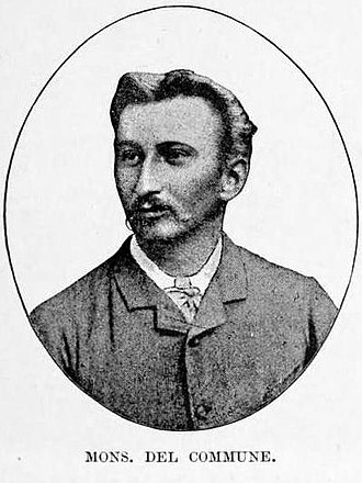 Alexandre Delcommune - Portrait from HM Stanley's book The Congo and the founding of its free state; a story of work and exploration (1885)