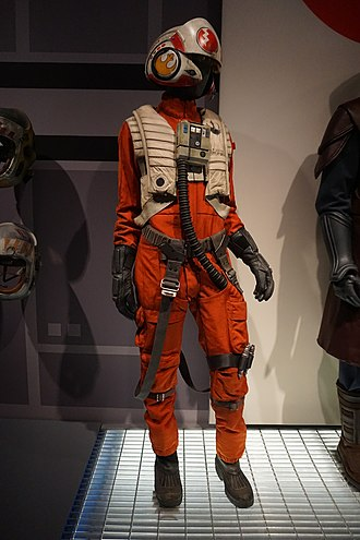 Resistance (Star Wars) - Resistance fighter pilot's X-Wing jumpsuit from Episode VII