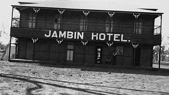 Jambin, Queensland - Jambin Hotel, circa 1920