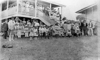 Wandoan - Opening of the new Juandah State School, 1918